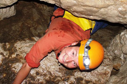 Caving tour in Bovec Slovenia
