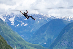 Zip Line in Bovec